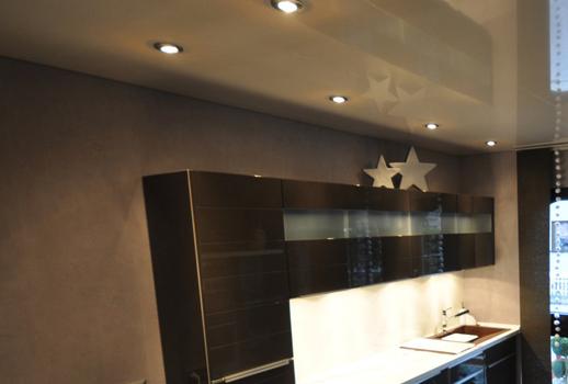 Выбрать потолок для кухни дизайн