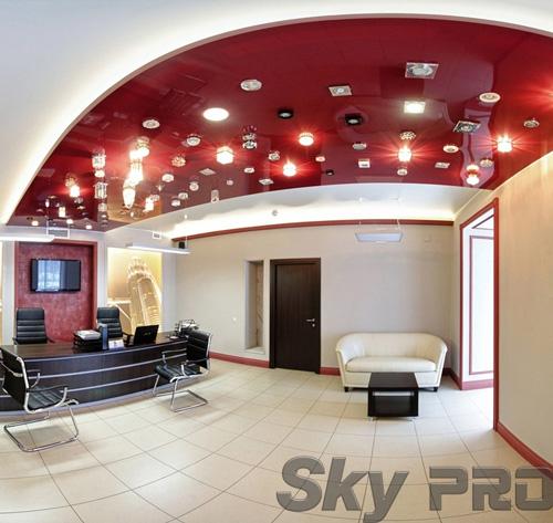 светильники в офисе SkyPRO в Порхове